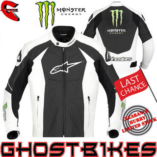 View Item Alpinestars GP-M Monster Energy Motorcycle Jacket